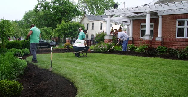 Dayton, Springfield, Urbana Landscape Services and Lawn Services
